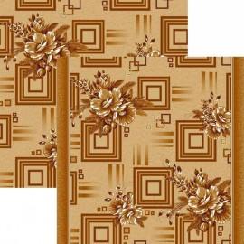 Паласная дорожка Астра 1145/43 бежево-коричневый
