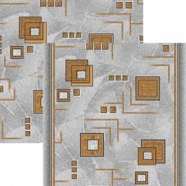 Паласная дорожка Кубик 970/54 серо-коричневый