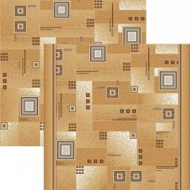 Паласная дорожка Квадрат 1170/34 бежево-серый