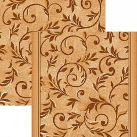 Паласная дорожка Вензель 1161/43 бежево-коричневый