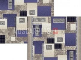Палас Греция 1286е2/101 сине-серый