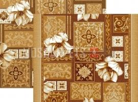 Палас Лотос 1610a4/43 бежево-коричневый