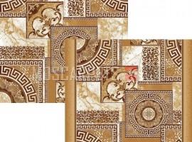 Паласная дорожка Афины 1559а1/43 бежево-коричневый