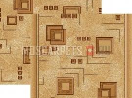 Палас Кубик 970/43 бежево-коричневый