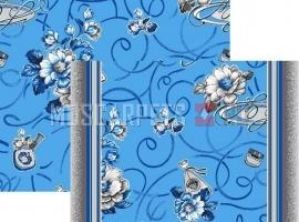 Палас Презент 1248b5/47 голубой