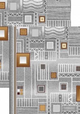 Палас Плата 1035/54 серо-коричневый