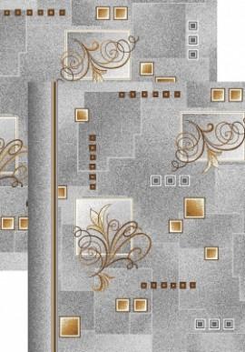 Палас Виноградная лоза 1098/54 серо-коричневый