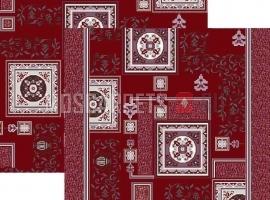 Палас Фаянс 1359a4/85 бордово-жемчужный