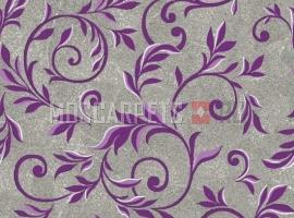 Палас Палисад 9425 серо-фиолетовый