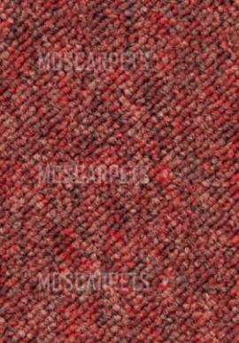Ковровая плитка Лондон  1265 (London ) красный