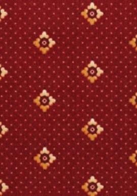 Палас Плутон 931 красный