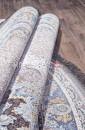 Ковер FARSI 1200-G252 LIGHT GRAY круг