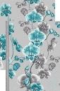Палас Весна 1179/47 серо-бирюзовый