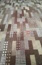 Палас Сити 4243 бежево-коричневый