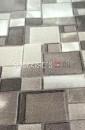 Палас Геометрия 1822a2/100 бело-серый