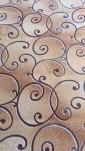 Палас Амели 1250a2/34 бежево-серый