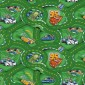 Палас Гонки 600 зеленый
